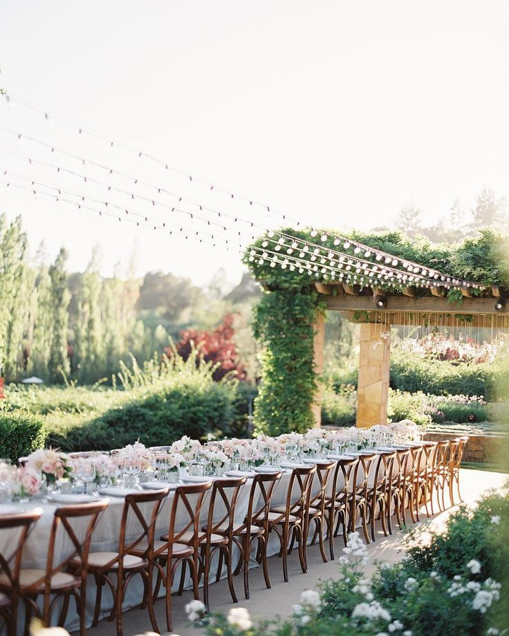 Stephanie & Phil's private estate wedding in the Napa Valley was very intimate sentimental and beautiful. See more photos from this wedding on our website. With @kathleendeerydesign /paulaleduc/ @illusionslightingdesign @perfectendingscakes /josevilla/ #napawedding by lauriearons
