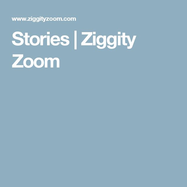 Stories | Ziggity Zoom