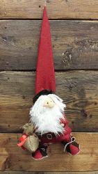 Babbo Natale rosso con pantalone scozzese