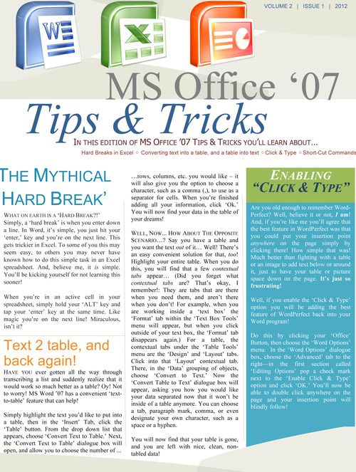 Some awesomely useful MS Word, Excel & Powerpoint tips & tricks!    (hollyhelps.tumblr.com)