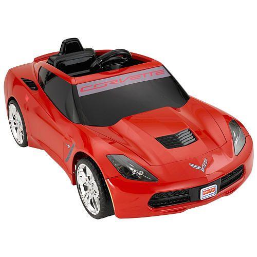 Fisher Price Power Wheels Corvette Red Fisher Price