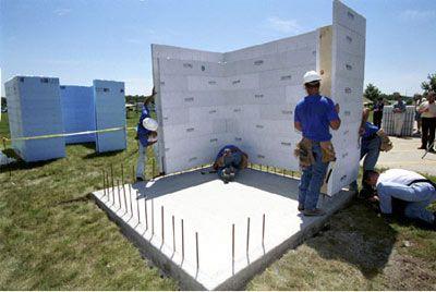 Como funciona um quarto do pânico - tornado shelter construction