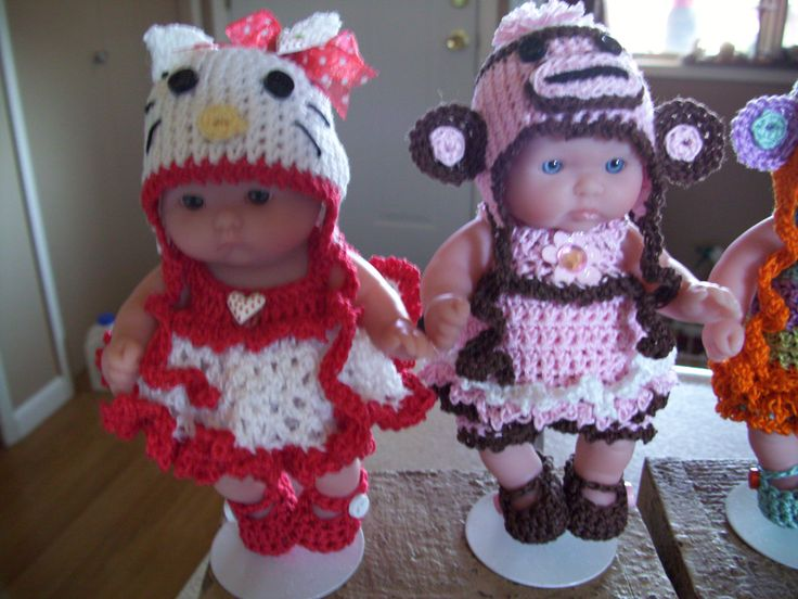 2909 Best Poupes Images On Pinterest Baby Doll Clothes Crochet