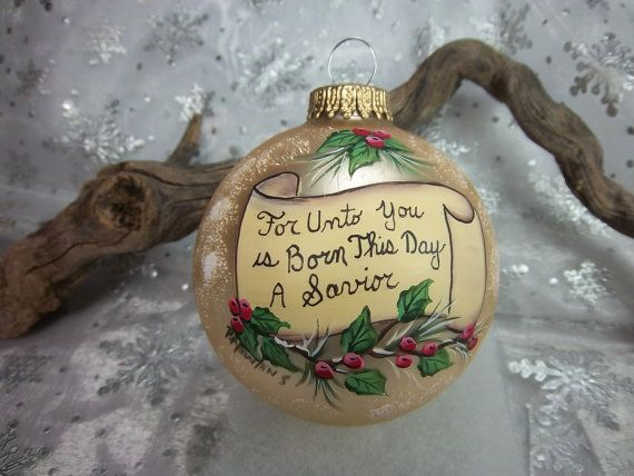 Check out this item in my Etsy shop https://www.etsy.com/listing/234980967/ornament-with-christmas-message-scroll