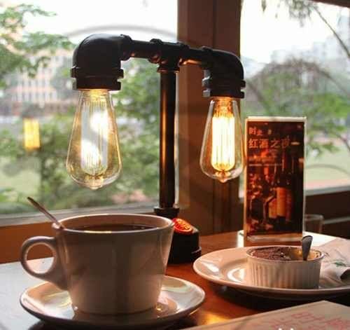 lampada edison retro vintage filamento e27 60w