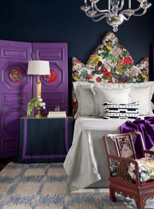 Die besten 25+ Lila akzente Ideen auf Pinterest Schlafzimmer - wohnzimmer lila weis