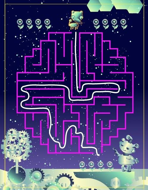 #Wee Kids Mazes #puzzle #kids #app #colorful #education #ipad #kid #preschool #labyrinth #mazes #children