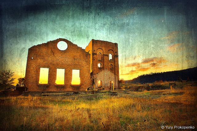 Blast Furnace ruins, Lithgow, NSW Australia  Texture from jessi