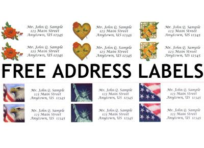 251 best images about Address labels – Free Address Labels Samples