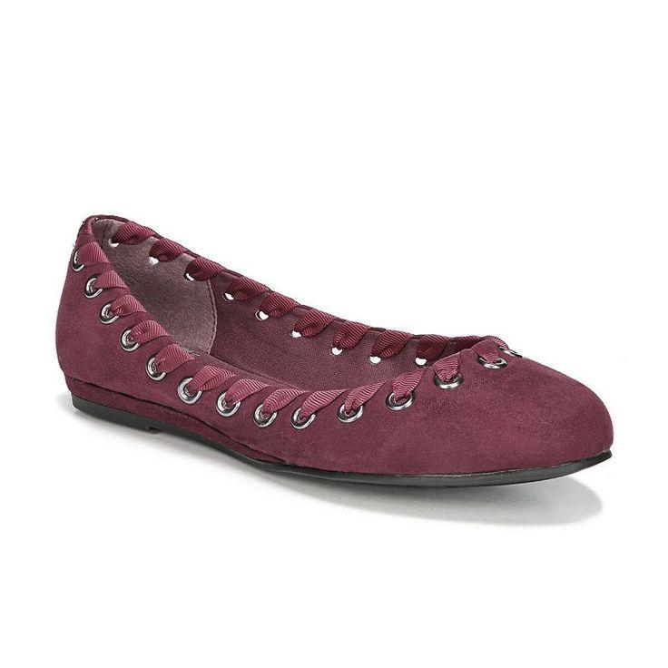 Fergalicious Fifi Women's Ballet Flats, Size: 5.5, Red