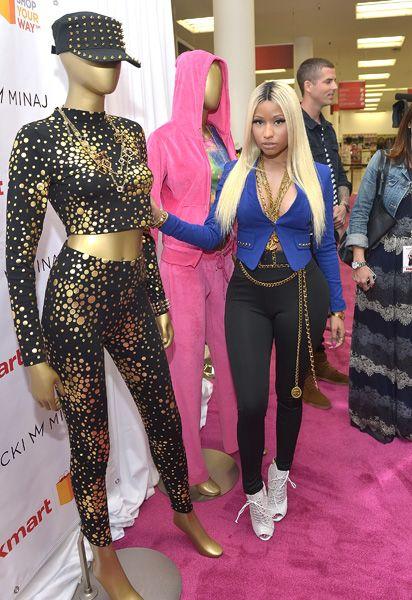 Nicki Minaj Launches Clothing Line at Kmart