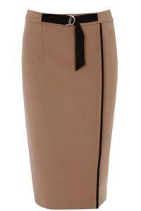Colourblock Pencil Skirt