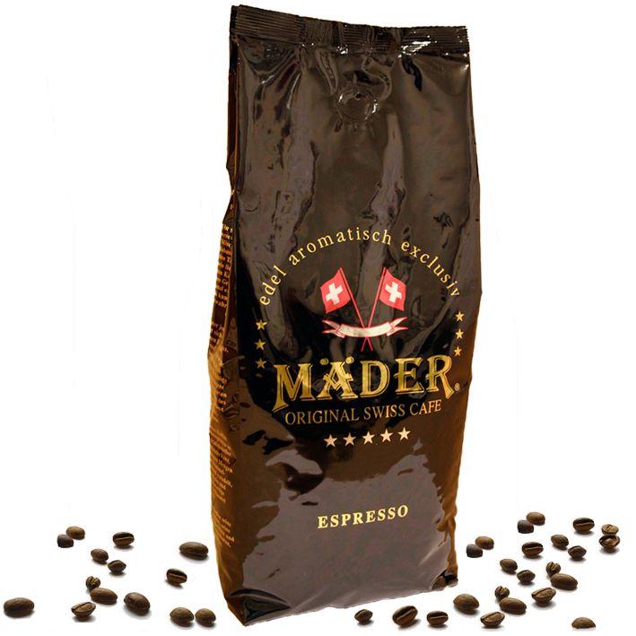 Mäder Kaffee Espresso Italy 1kg Bohnen