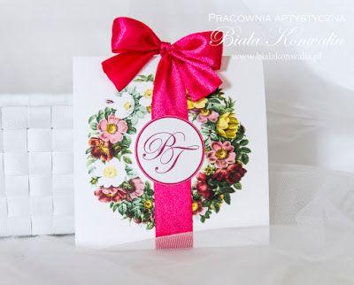 Biała konwalia: Kwiatowe zaproszenie ślubne