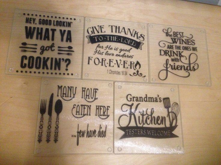 Cutting Board, Glass Cutting Board, Trivet, Cheese Cutting