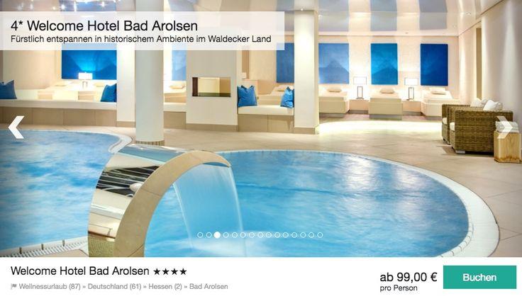 Wellness Knaller: 3 Tage im 4* Hotel in Hessen ab 99€ p.P. inkl. vieler Extras