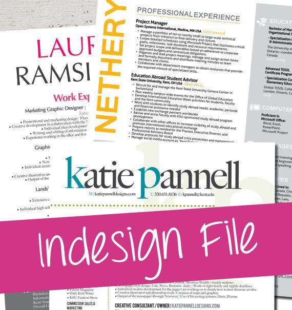 32 best Resume images on Pinterest Resume design, Design resume - resume templates for indesign