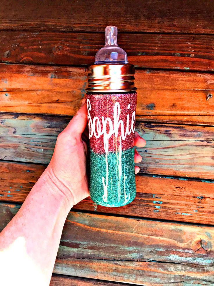 Custom Glitter Baby Bottles Glitter Bottle Custom Baby