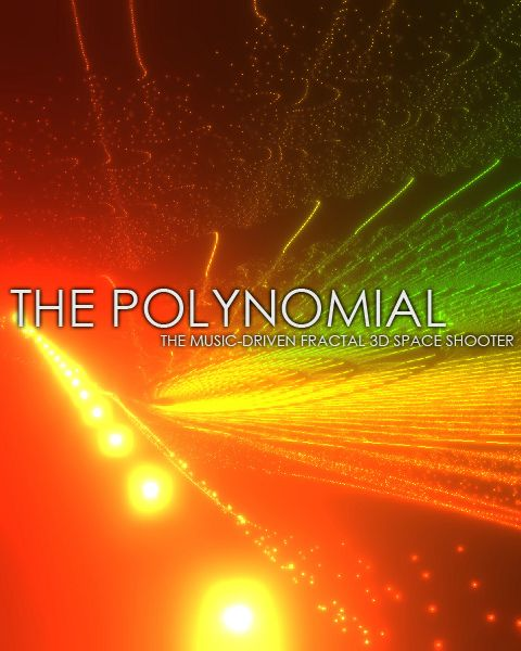 The Polynomial is a 3D musical 'space shooter' game, with non-shooter mode and built in fractal editor. Visuals are generated mathematically and animate to your music or microphone input.