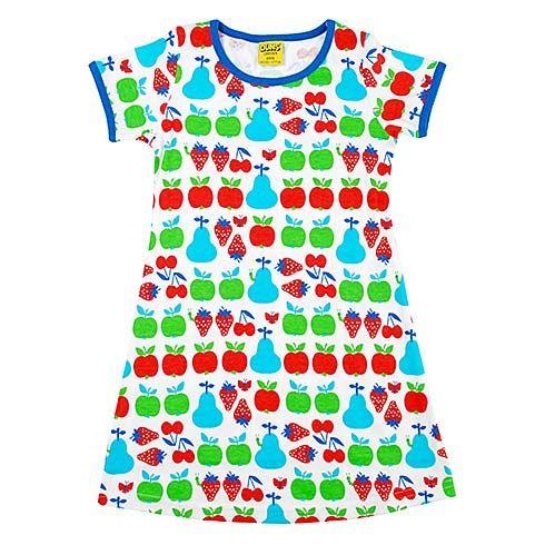 Organic Fruit Dress by Duns Sweden