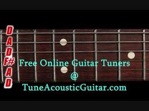 Open D Tuning - Open D Major Online Guitar Tuner