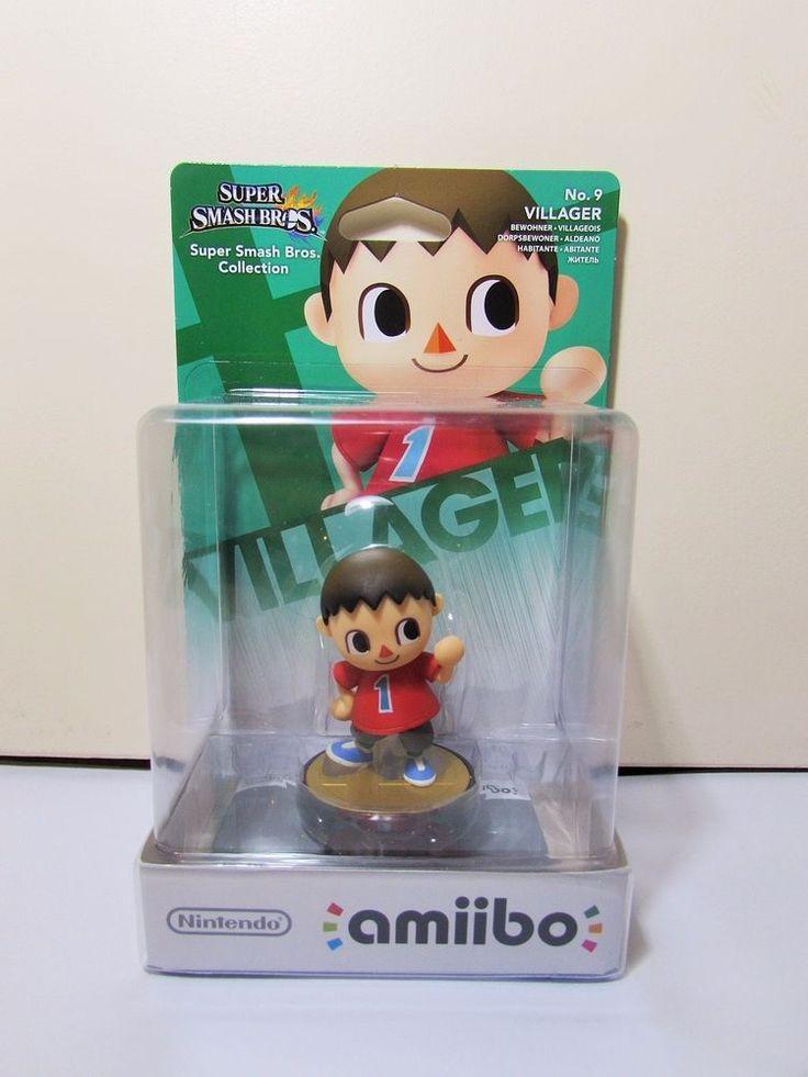 Nintendo Amiibo Super Smash Bros No 9 Villager Brand New Figure