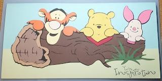 Crazy About Cricut: Cricut Ideas, Cricut Winnie, Baby Cards, Cricut Mickey, Mickey Cards, Cricut Creations, Scrapbook Cricut