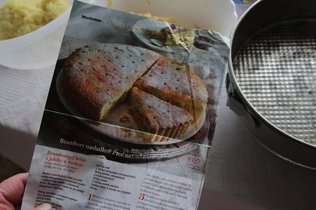 .rooster hill.: Brambory nasladko (koláč)