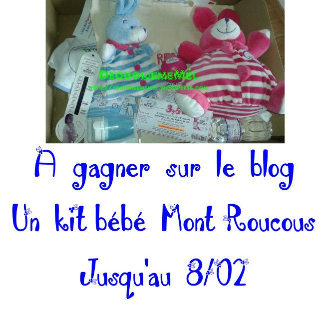 Mont Roucous l'eau des mamans et des bébés #Concours #KitBébé #MontRoucous *** Je ne te présente plus Mont Roucous, tu connais, j'en ai parlé plein de fois sur le blog Mais aussi par le biais de #W...