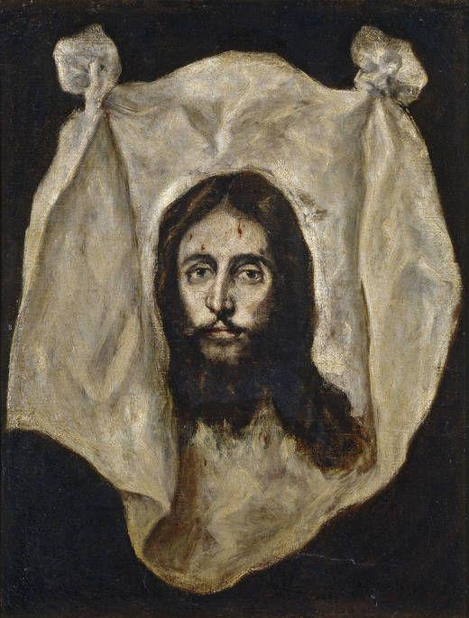 La Santa Faz, 1586 - 1595 (El Greco y su taller).