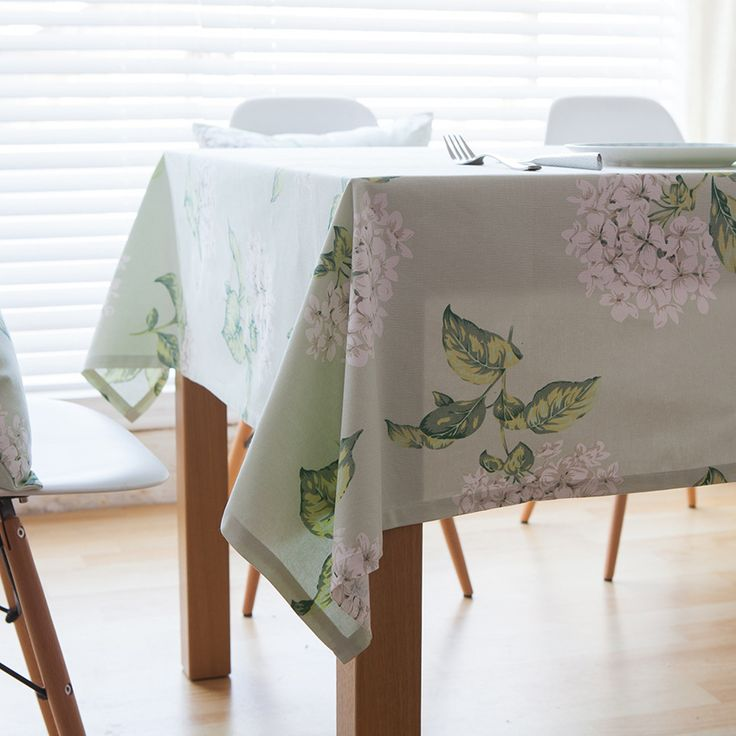 Table cloth for kitchen Fabric skirts Picnic TableCloth Printed Rectangular traditional rural linen Tea Table Cover Home decor #Affiliate