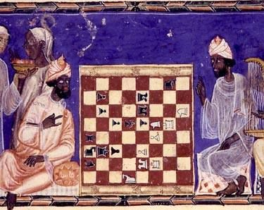 """Did you know...  India is the birthplace of chess. The original word for """"chess"""" is the Sanskrit Chaturanga, meaning """"four members of an army""""—which were mostly likely elephants, horses, chariots, and foot soldiers."""