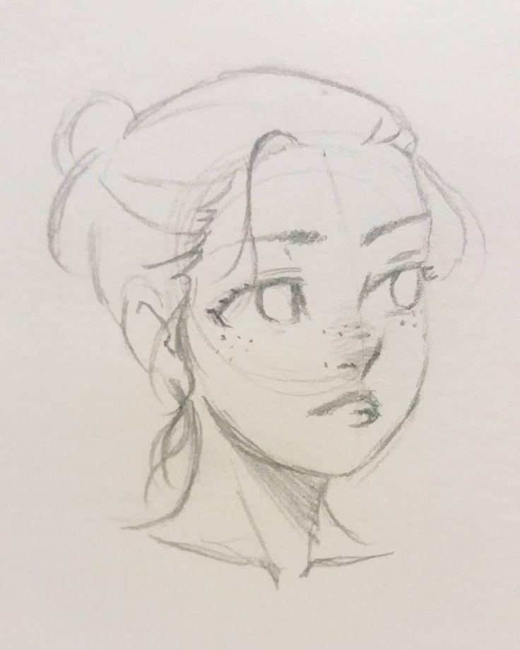 #croquisofthe #manga #portrait #doodle – #