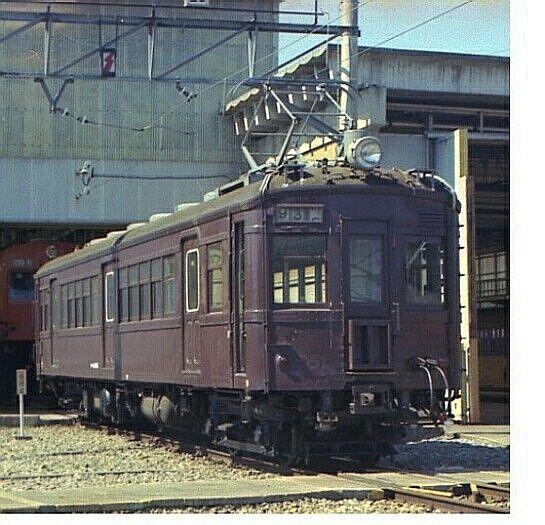 昭和53年3月先ごろ大宮に回送されたクモハ40が現役だったころ (豊田電車区)