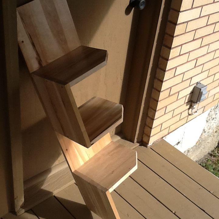 Corner shelves Solid maple