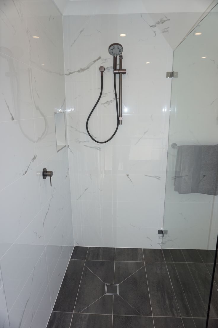 Bathroom modern this method to clean bathroom tiles is 100 times more - Walk In Shower Frameless Shower Gunmetal Grey Taps Gunmetal Grey Tapware Grey