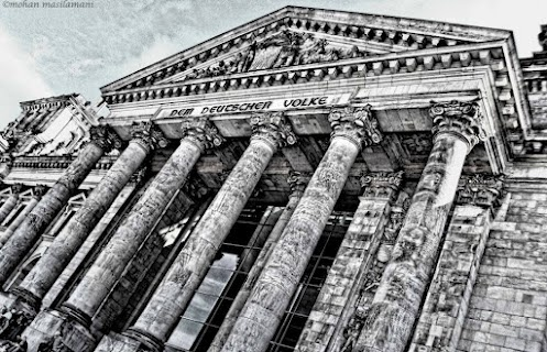 Bundestag, Berlin   #photography #monochrome #bw