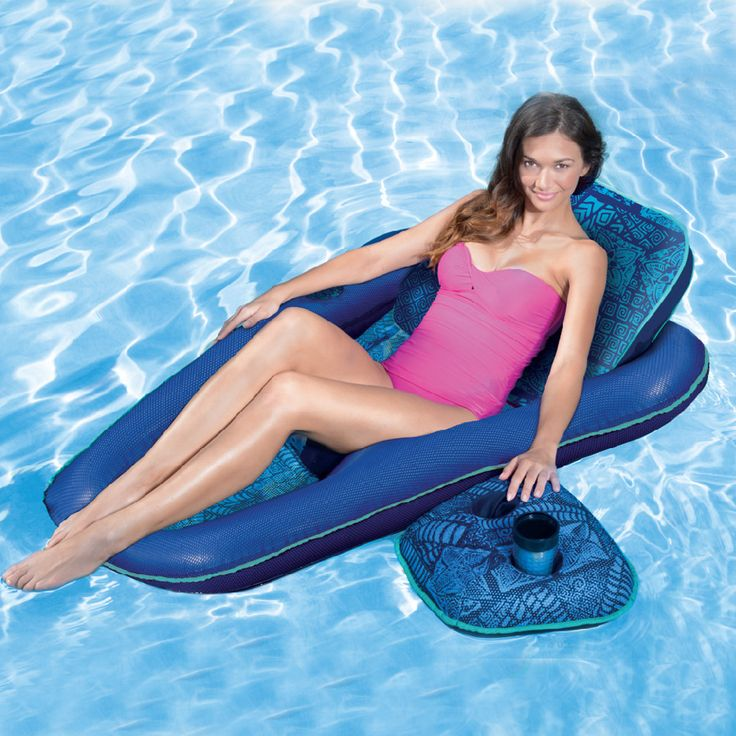 ... Directly From China Bed Inflatable Suppliers: 3 Pieces/Set 2016 New  Inflatable Deck Chair Seat Coasters Cup Holder Polyester Mesh Swim Pool  Floating ...