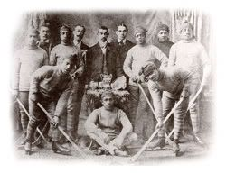 The Colored Hockey League of Maritimes in Nova Scotia was formed in 1894 across the provinces of Canada. This was 22 years before the National Hockey League. The first all-black ice hockey league held over a dozen teams and employed over 400 African-Canadian players.  The league was especially surprising to the stereotypical beliefs of whites that blacks couldn't endure cold climates or that we didn't have ankles strong enough to ice skate.