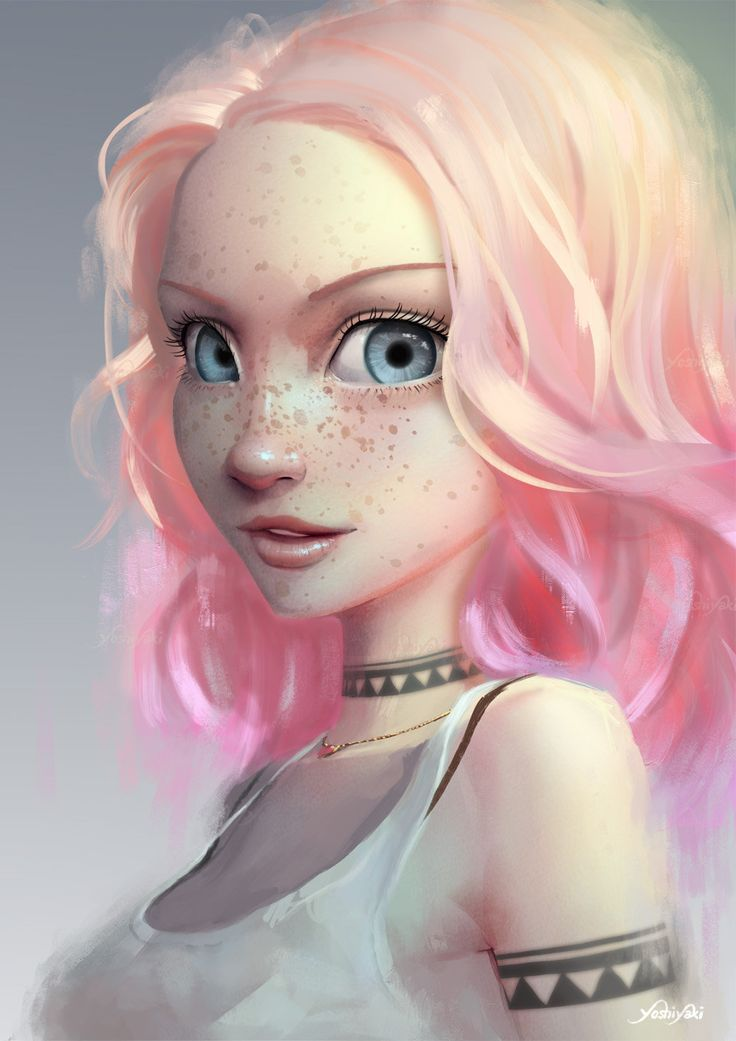 ArtStation - Light Pink, Cassio Yoshiyaki ★ Find more at http://www.pinterest.com/competing/