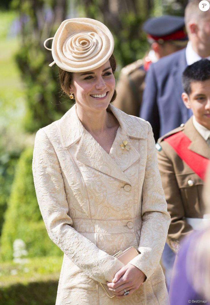 Kate Middleton et le prince William ont assisté à la garden party annuelle du secrétaire d'Etat pour l'Irlande du Nord au château de Hillsborough à Belfast le 14 juin 2016