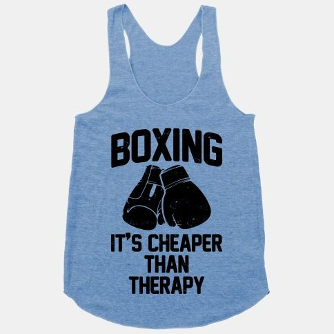 I wear this one all the time! If you haven't tried boxing in some form.... do it!!