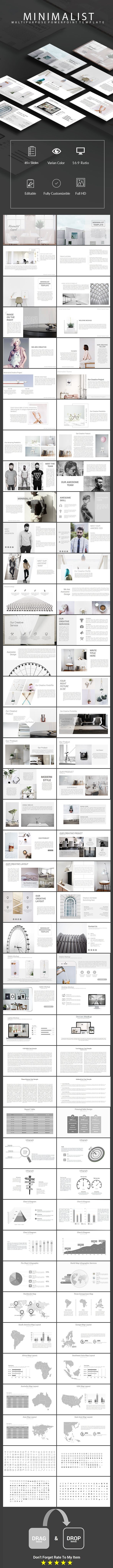Minimalist - Multipurpose Powerpoint Template (PowerPoint Templates)