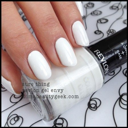 Revlon Gel Envy Sure Thing 2014. Click thru to imabeautygeek.com for more Gel Envy Swatches!