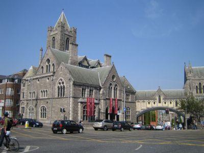 Dublinia (Synod Hall) in Dublin, Ireland.