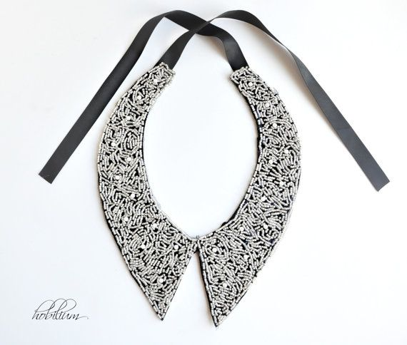 Collar NecklaceCol Claudine peter panbead collar by hobilium, $29.00