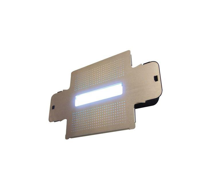 Trappola a luce UV con piastra collante Sunburst Tab  Trappola a colla ideale per punti di ristoro. Disponibile anche ricambio piastre collanti.
