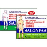 Pain Relief Patch: Salonpas External Pain Relief Patch, 20 Patches/Pack #Medical #MedicalSupplies