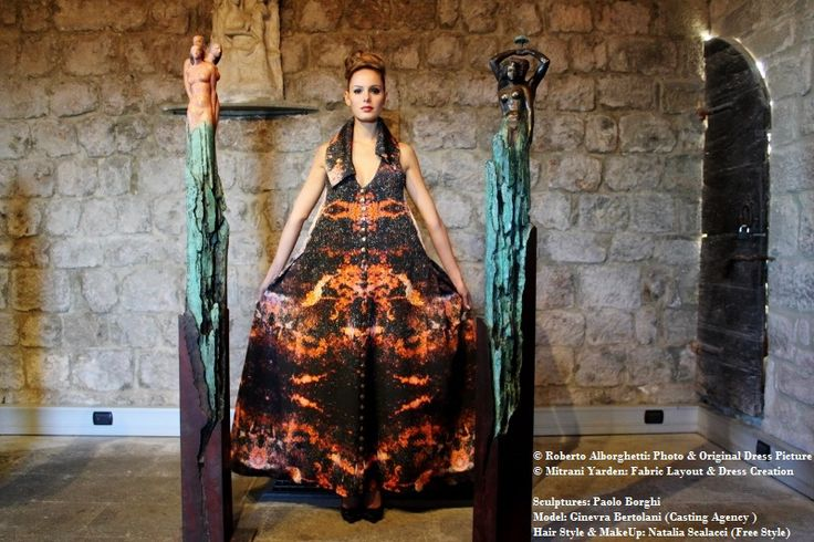SPECIAL PREVIEW: THE VOLCANO DRESS