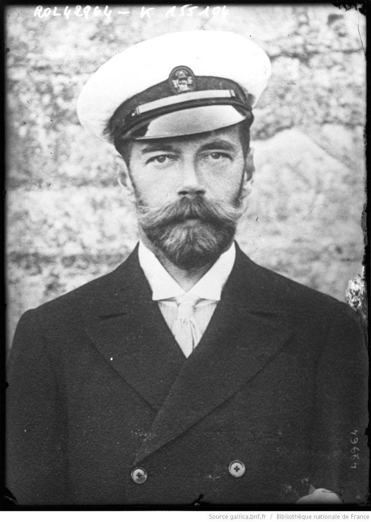 Le Tsar Nicolas II [portrait] : [photographie de presse] / [Agence Rol]